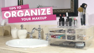 Tips to organize your make up - Video