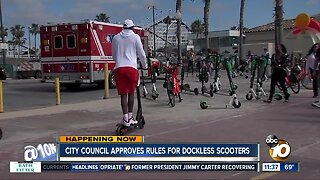 San Diego City Council finalizes approval of dockless scooters regulations