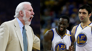 Draymond Green RESPONDS to Coach Pop Calling Zaza Pachulia a Dirty Player - Video