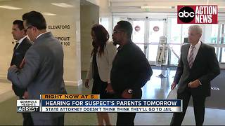 Hearing for accused Seminole Heights killer's parents tomorrow - Video