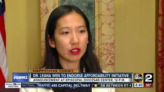 City Health Commissioner to endorse Prescription Drug Affordability Initiative - Video