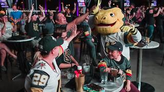 Vegas Golden Knights fans are ready for round 2 - Video