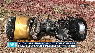 Haines City family escapes apartment fire believed to be started by hover board - Video