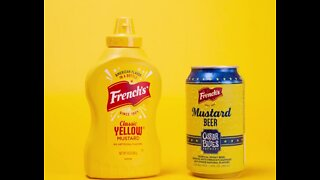 French's Mustard Beer rolls out tomorrow
