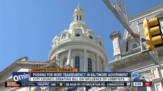 Pushing for more transparency in Baltimore government - Video