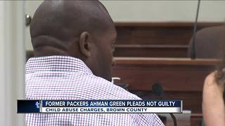 Former Packers running back Ahman Green pleads not guilty to child abuse