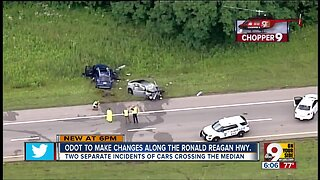 ODOT working to prevent crashes along Ronald Reagan Highway