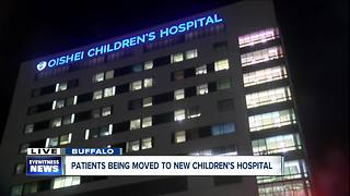 Patients moved to new Children's Hospital