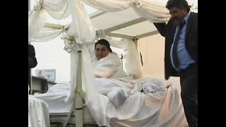 World's Fattest Man Gets Married - Video
