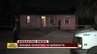 Police investigating double shooting in Sarasota - Video