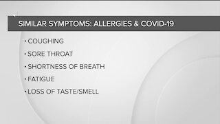 Sorting out the symptoms: Difference between fall allergies and COVID-19 symptoms