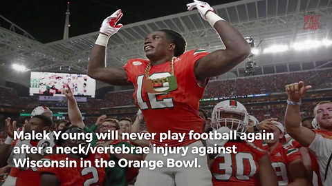 """First Hurricane to Dawn The """"Turnover Chain"""" Suffers Career-Ending Injury"""