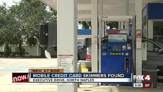 Credit card skimmers found in Naples