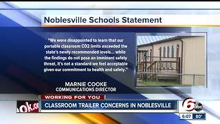 Noblesville classroom trailer causes concern for parents - Video
