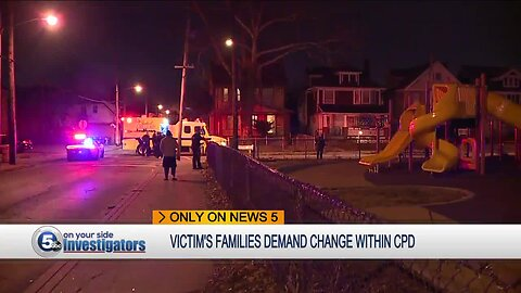 Cleveland families who lost loved ones to gunfire demand more homicide detectives be hired