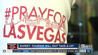 Expert says tourism will not take hit after mass shooting - Video