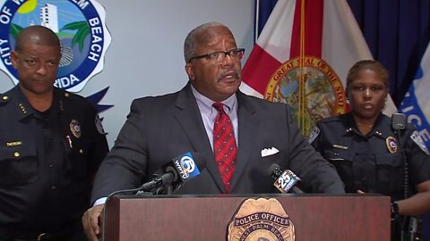 FULL NEWS CONFERENCE: West Palm Beach police defend response to violent protests