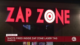 Shots fired at Zap Zone laser tag