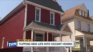 Cleveland development corporations buy, flip abandoned homes to improve neighborhoods - Video