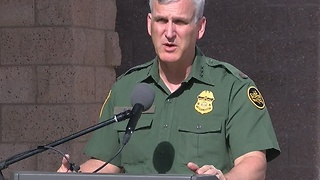 Border Patrol agent involved in shooting after assault - Video