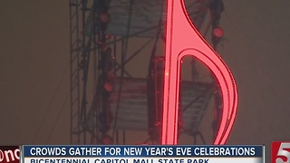 Thousands In Music City Ring In 2017 - Video