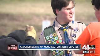 Eagle Scout starts project to honor local fallen officers - Video