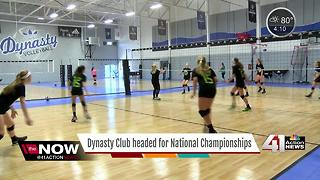 Kansas City volleyball club heads to national championship - Video