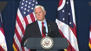 Vice President Mike Pence speaks in Cincinnati