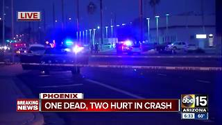 Person killed, two men hurt in crash at 45th Avenue and Camelback - Video