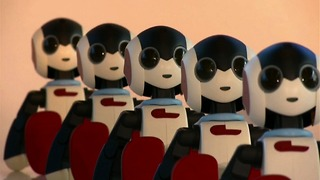 100 Dancing Robots - Video