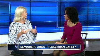 Reminders about pedestrian safety