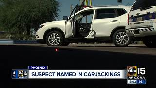 Police ID man accused in Valley carjacking - Video