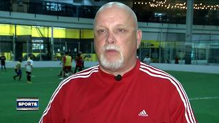 Soccer is life: Soccer coach giving back after recovering from life-threatening disease - Video