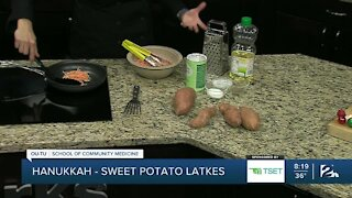 Shape Your Future Healthy Kitchen: Sweet Potato Latkes