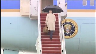 Watch Closely ... Biden And Those Pesky Stairs Again