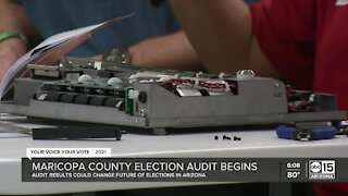 Maricopa County election audit begins