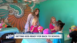 Back to school advice from a teacher - Video