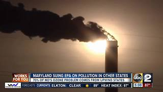 Governor Hogan wants state to sue EPA - Video