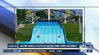 Water World opens Saturday! - Video