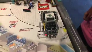 Homeschool kid robotics team qualifies for state competition - Video