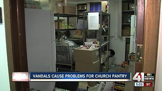 Community steps in to help vandalized KCK church - Video