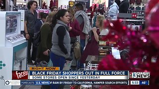 Some stores open Thanksgiving for shopping