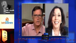 Smiling Kamala Harris Openly Endorsed, Funded Bail for Seditious Insurrectionist Riots