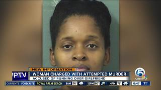 Woman accused of hitting girlfriend with car charged with attempted murder