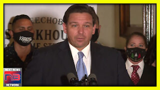 Gov. DeSantis SMACKS Down RIDICULOUS Question from Reporter After He STANDS UP For Small Buisnesses