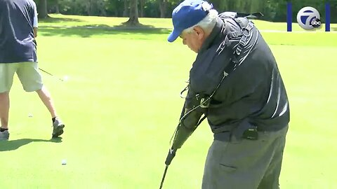 Quadrilateral Amputee Plays in WNY Golf Tournament