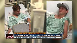 12-year-old boy on a mission to save others after remarkable survival story - Video