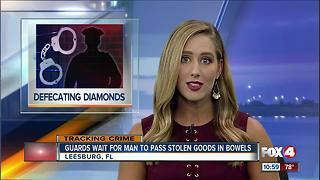Doody duty: Man swallows diamond earrings - Video