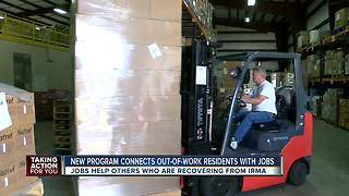 Job training program help those affected by Hurricane Irma