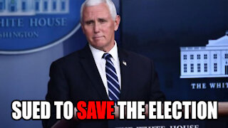 Republicans SUE Mike Pence to SAVE ELECTION